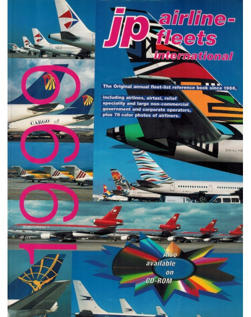 JP Airline Fleets International 1999/2000, 33rd Edition