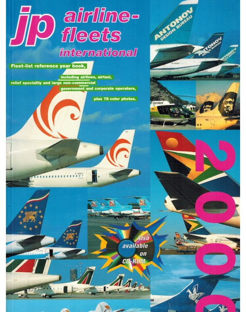 JP Airline Fleets International 2000/2001, 34th Edition