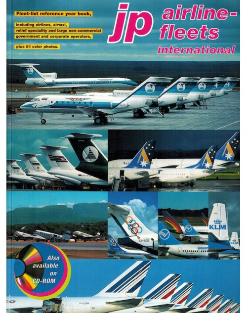 JP Airline Fleets International 2001/2002, 35th Edition
