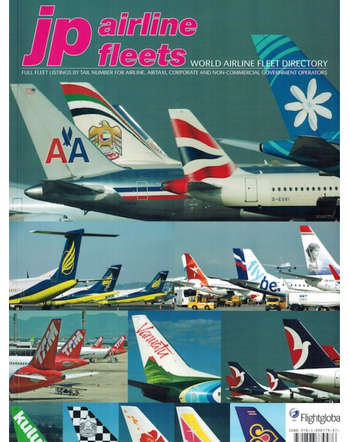 JP Airline Fleets International 2012/13, 46th Edition