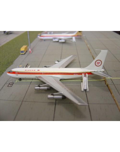 Alaska Boeing 720-024B N57201 Golden Nugget 1/400 scale diecast Aeroclassics