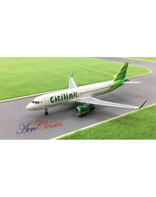 Citilink (Garuda) Airbus A320-251Neo PK-GTA 1/400 scale diecast Aeroclassics