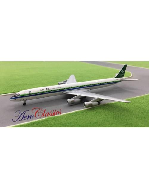 Saudia Douglas DC-8-61 N912R 1/400 scale diecast Aeroclassics