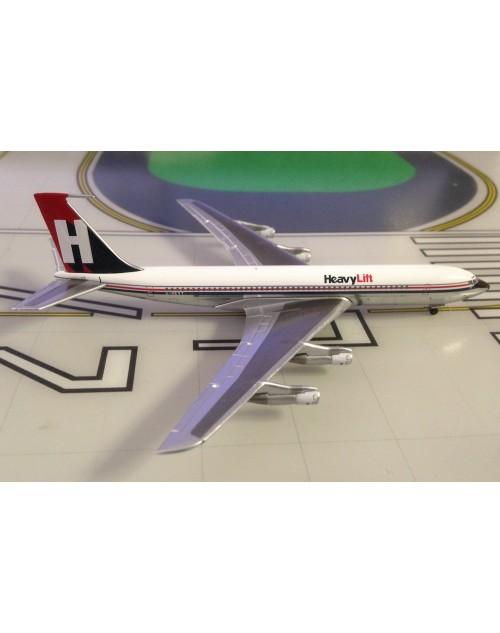 HeavyLift Boeing 707-324C G-HEVY 1990's colors 1/400 scale diecast Aeroclassics