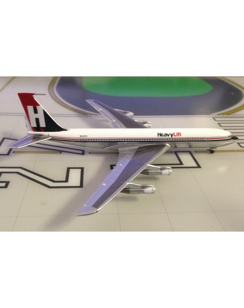 HeavyLift Boeing 707-351C N2215Y 1980's colors 1/400 scale diecast Aeroclassics