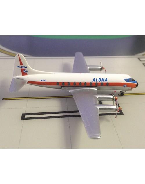 Aloha Vickers Viscount 754D N7410 1/400 scale diecast  Aeroclassics