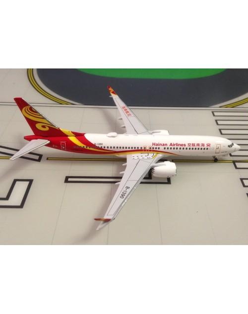 Hainan Airlines Boeing 737 Max-8 B-1390 1/400 scale diecast Aeroclassics