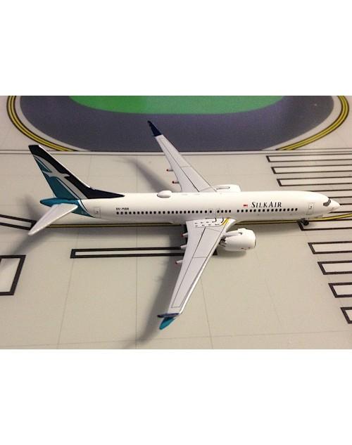 Silk Air Boeing 737 Max-8 9V-MBB 1/400 scale diecast Aeroclassics