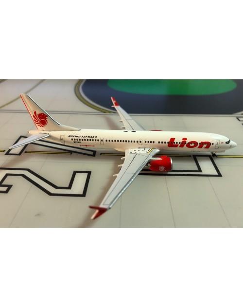 Lion Air Boeing 737-Max 9 N739EX 1/400 scale diecast Aeroclassics