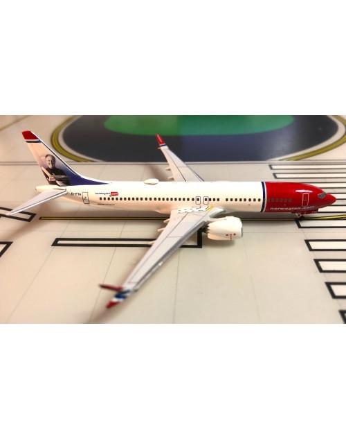 Norwegian Boeing 737 Max-8 EI-FYA Freddy Laker 1/400 scale diecast Aeroclassics