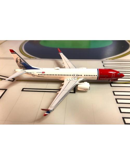 Norwegian Boeing 737 Max-8 EI-FYD Benjamin Franklin 1/400 scale diecast Aeroclassics