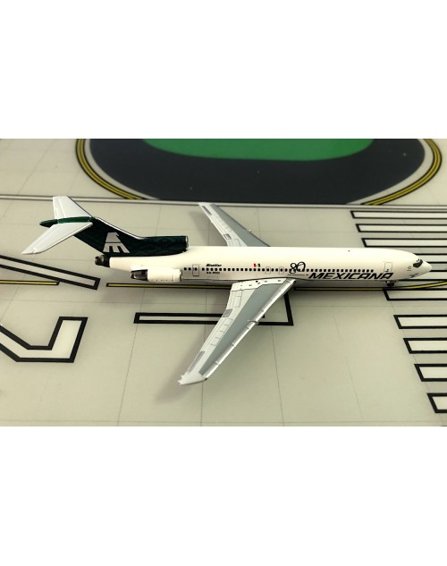 Mexicana Boeing 727-264A XA-MXD Green tail 80th 1/400 scale diecast Aeroclassics
