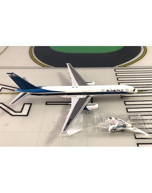 EL AL Boeing 757-258 4X-EBR Blue titles/Flag 1/400 scale diecast Aeroclassics