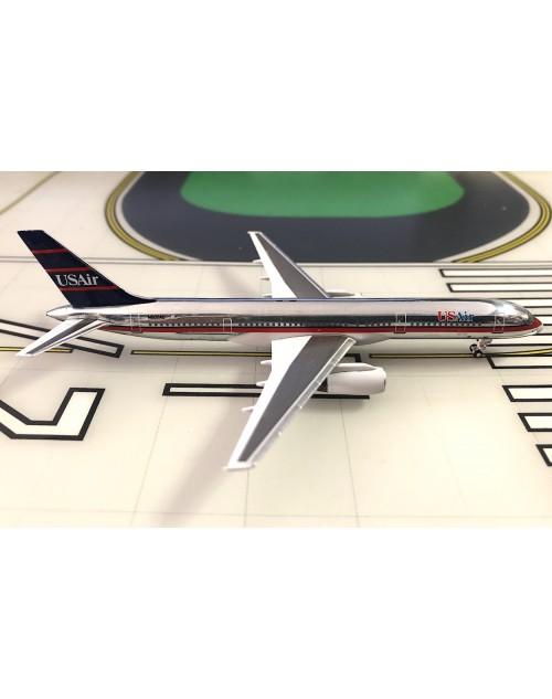 USAir Boeing 757-225 N602AU 1990s blue/red 1/400 scale diecast Aeroclassics