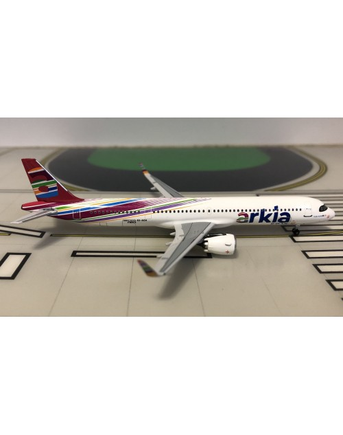 Arkia Airbus A321neo (A321-251NX) 4X-AGH New colors 1/400 scale diecast Aeroclassics