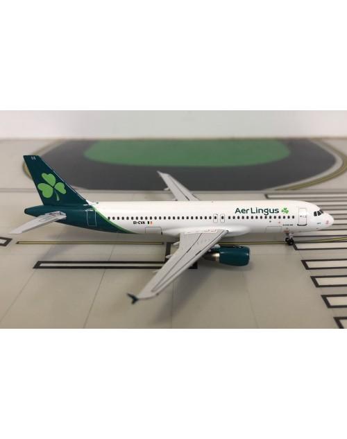 Aer Lingus Airbus A320-214 EI-CVA New colors 1/400 scale diecast Aeroclassics