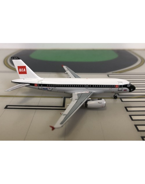 British Airways Airbus A319-131 G-EUPJ Retro BEA 1/400 scale diecast Aeroclassics