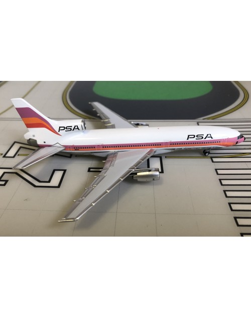 PSA Lockheed L-1011-1 N10114 with airline logos 1/400 scale diecast Lockness Models