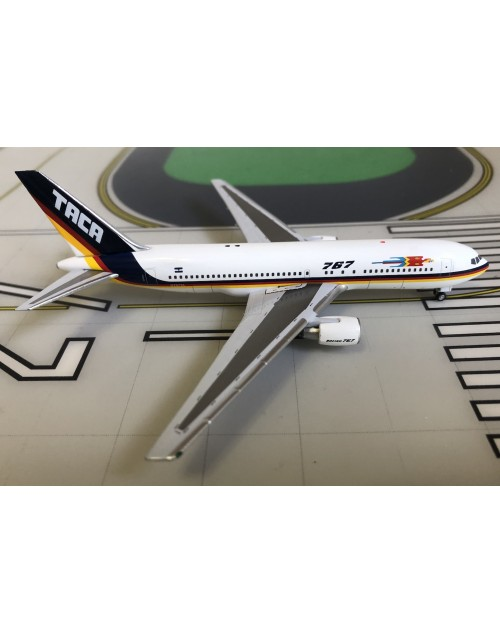 TACA Boeing 767-200 N767TA 1990s 1/400 scale diecast Aeroclassics