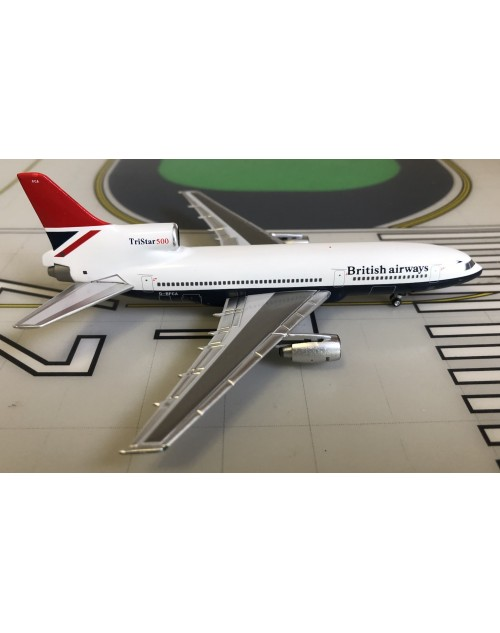 British Airways Lockheed L-1011-500 G-BFCA Negus 1/400 scale diecast Lockness Models