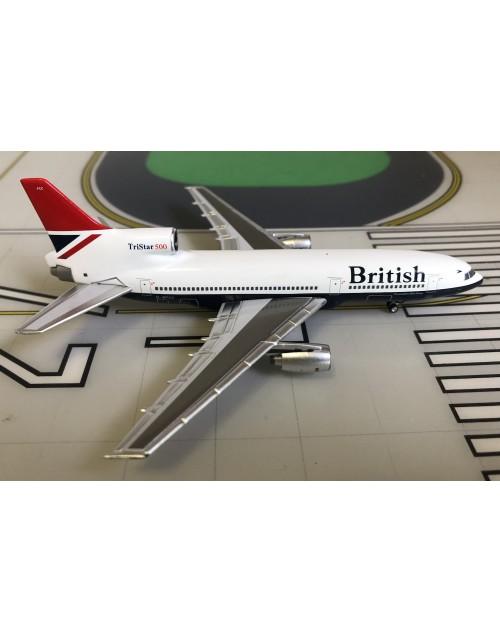 British Lockheed L-1011-500 G-BFCC Negus 1/400 scale diecast Lockness Models