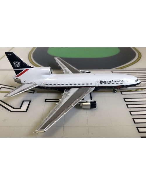British Airways Lockheed L-1011-500 G-BLUT Landor 1/400 scale diecast Lockness Models