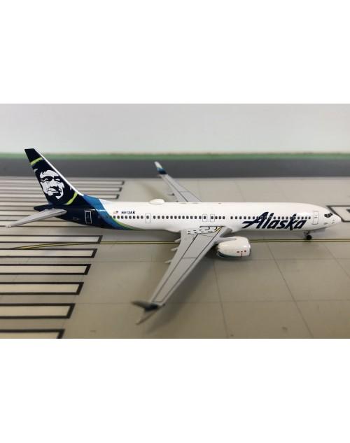 Alaska Boeing 737-Max 9 N913AK Current colors 1/400 scale diecast Aeroclassics
