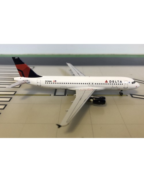 Delta Airbus A320-212 N378NW Current colors 1/400 scale diecast Aeroclassics