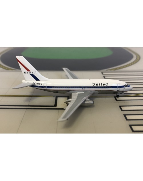 United Boeing 737-200 N9054U 1970s colors 1/400 scale diecast Aeroclassics