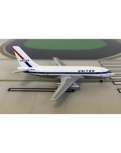 United Boeing 737-200 N9001U 1970s colors 1/400 scale diecast Aeroclassics