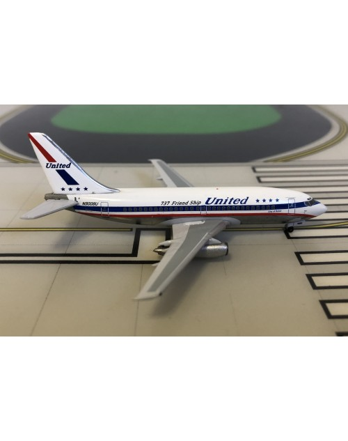 United Boeing 737-200 N9008U Friendship colors 1/400 scale diecast Aeroclassics