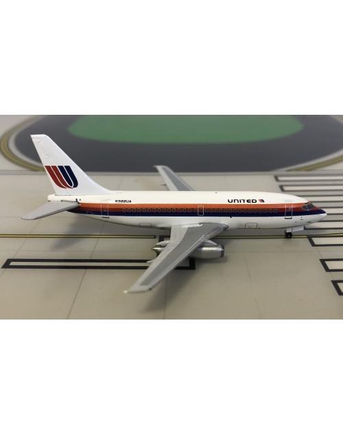 United Boeing 737-200 N988UA 1990s colors 1/400 scale diecast Aeroclassics
