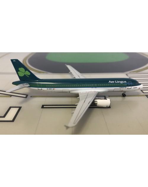 Aer Lingus Airbus A320-214 EI-DEA 2000s colors 1/400 scale diecast Aeroclassics