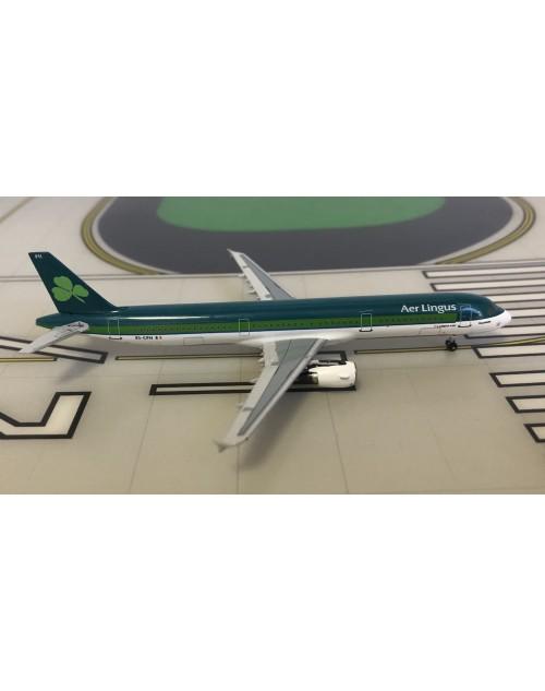 Aer Lingus Airbus A321-211 EI-CPH 2000s colors 1/400 scale diecast Aeroclassics