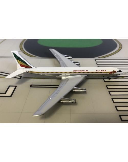 Ethiopian Boeing 707-320C ET-ACQ 1/400 scale diecast Aeroclassics
