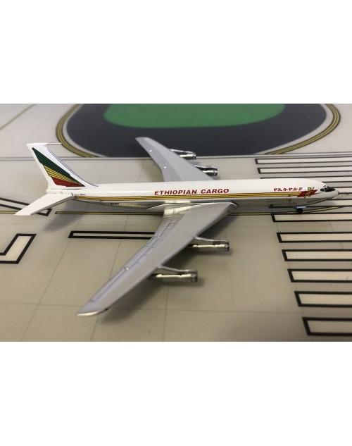 Ethiopian Cargo Boeing 707-320C ET-AIV 1/400 scale diecast Aeroclassics
