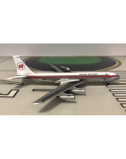 Kenya Airways Boeing 707-320B 5Y-BBR 1/400 scale diecast Aeroclassics