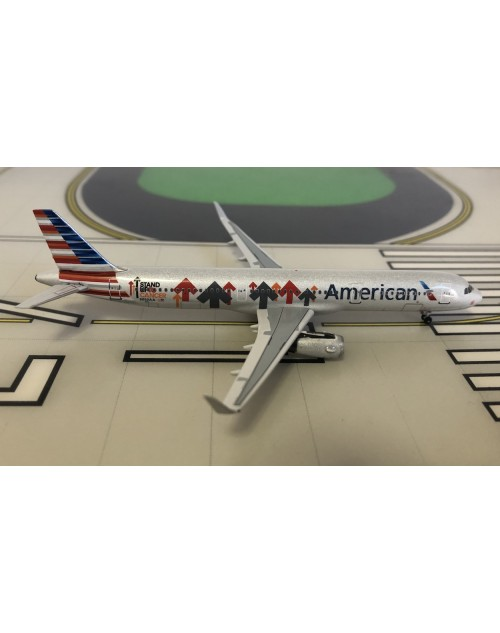 American Airbus A321 N162AA Stand up to Cancer 1/400 scale diecast Aeroclassics