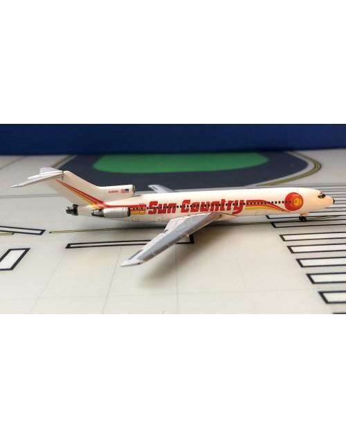 Sun Country Boeing 727-251/adv 1990s 1/400 scale diecast Aeroclassics