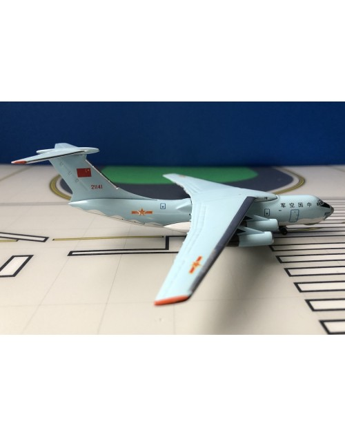 Republic of China Air Force Ilyushin IL-76 21141 1/400 scale diecast Aeroclassics
