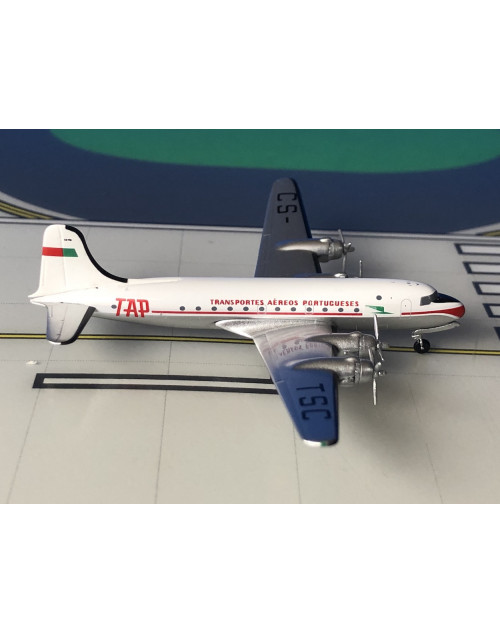 TAP - Transportes Aereos Portugueses Douglas DC-4 CS-TSC 1/400 scale diecast Aeroclassics