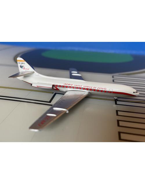 Iberia Caravelle VIR EC-ARJ delivery colors 1/400 scale diecast Aeroclassics