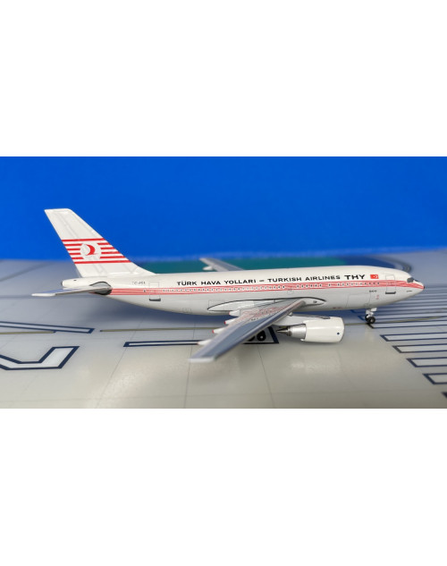 Turkish Airlines Airbus A310-203 TC-JCL 1980s 1/400 scale diecast AeroClassics