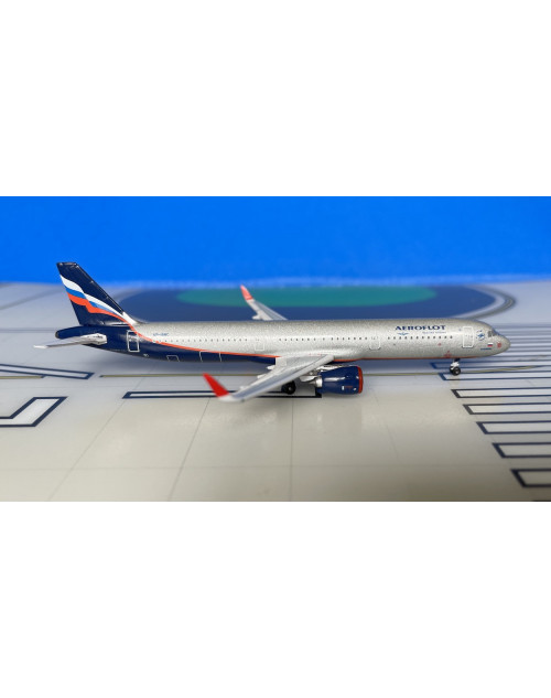 Aeroflot Airbus A321-251NEO VP-BRC 1/400 scale diecast Aeroclassics
