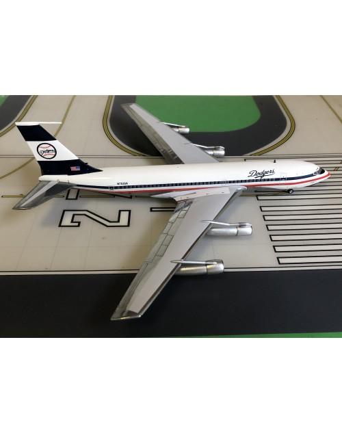 Los Angeles Dodgers Boeing 720-023B N7536A 1/200 scale diecast Aeroclassics
