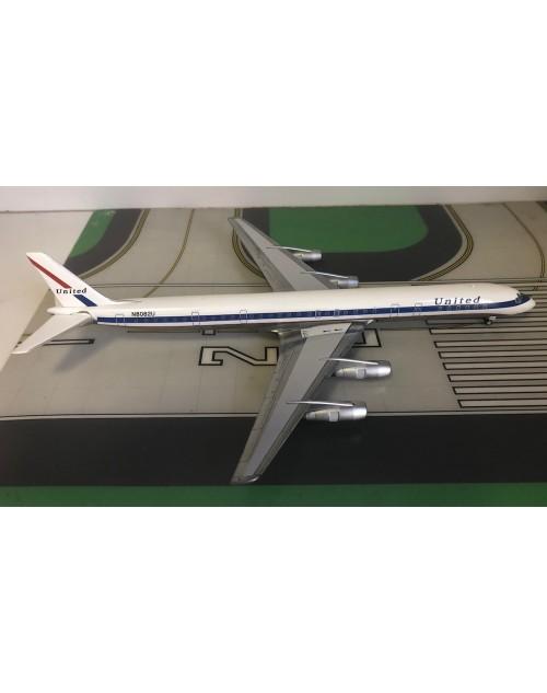 United Douglas DC-8-61 N8082U 1970s colors 1/200 scale diecast Aeroclassics