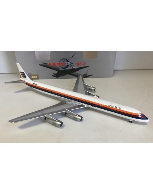 United DC-8-61 N8088U Saul Bass 1/200 scale diecast Aeroclassics