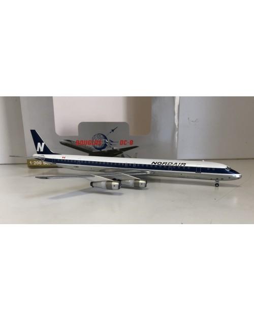 Nordair Douglas DC-8-61 C-GNDA 1970s 1/200 scale diecast Aeroclassics