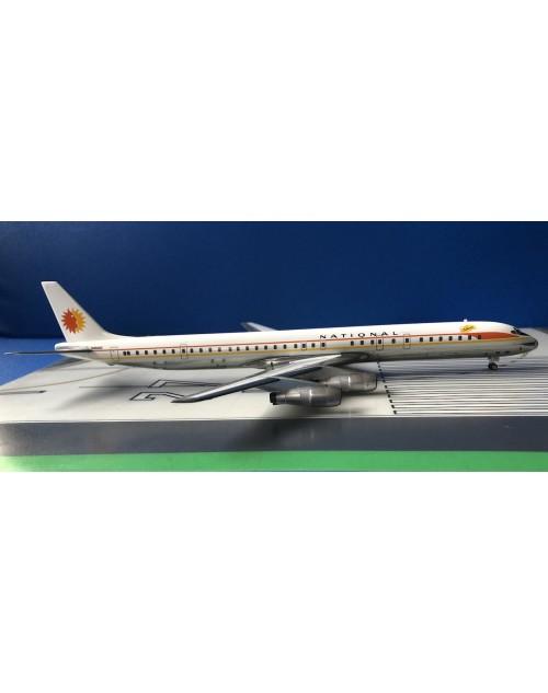 National Douglas DC-8-61 N45090 Catherine 1970s 1/200 scale diecast Aeroclassics