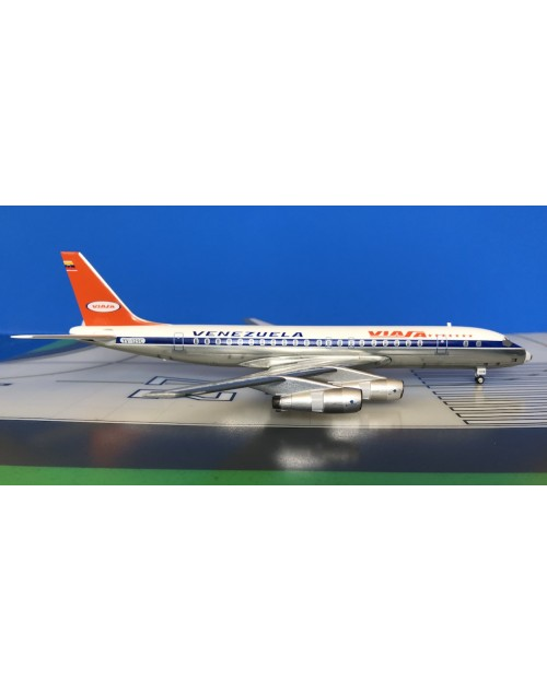 Viasa Douglas DC-8-53 YV-C129C 1980s 1/200 scale diecast Aeroclassics